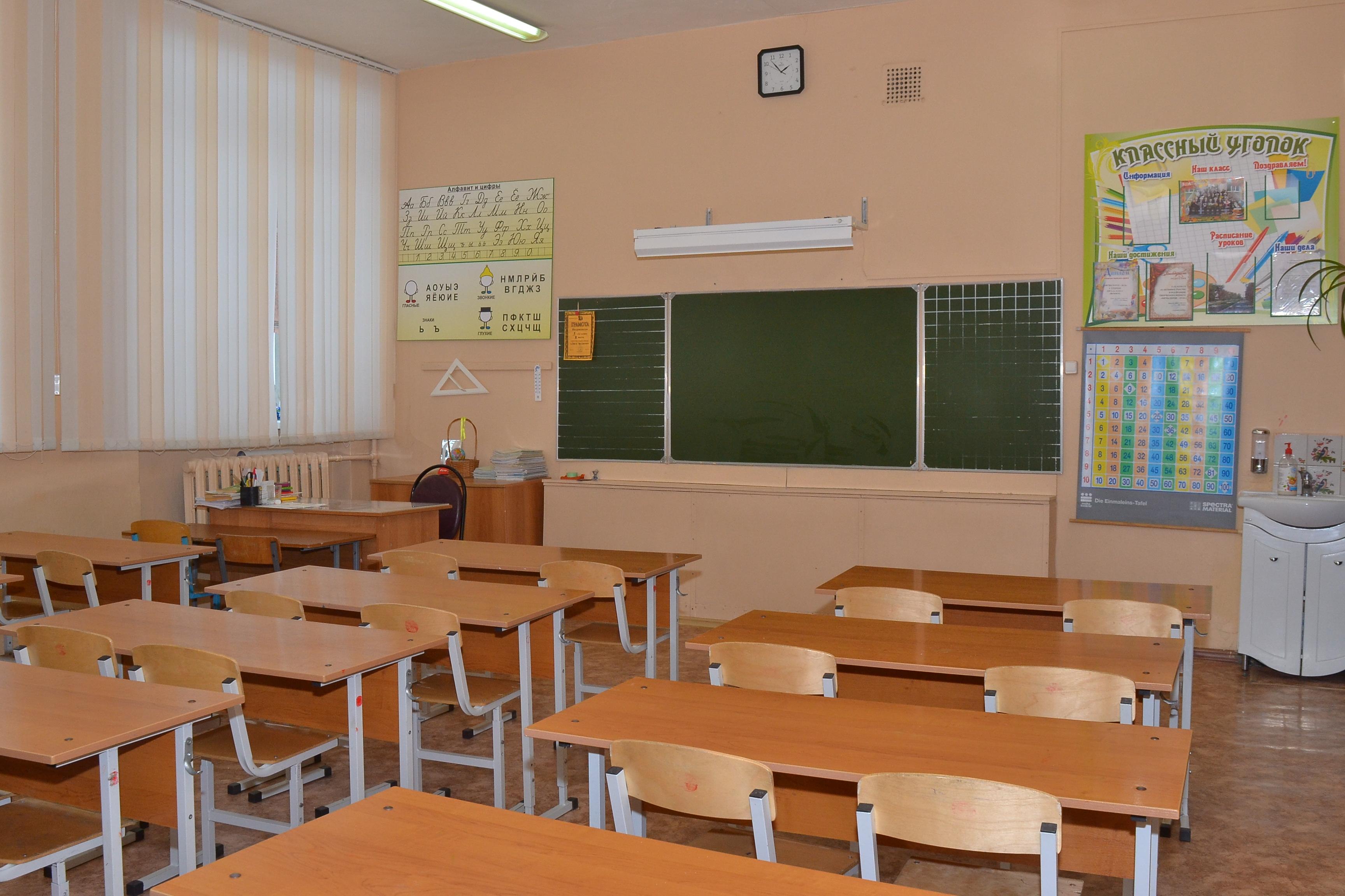Кабинет № 8 - начальные классы.