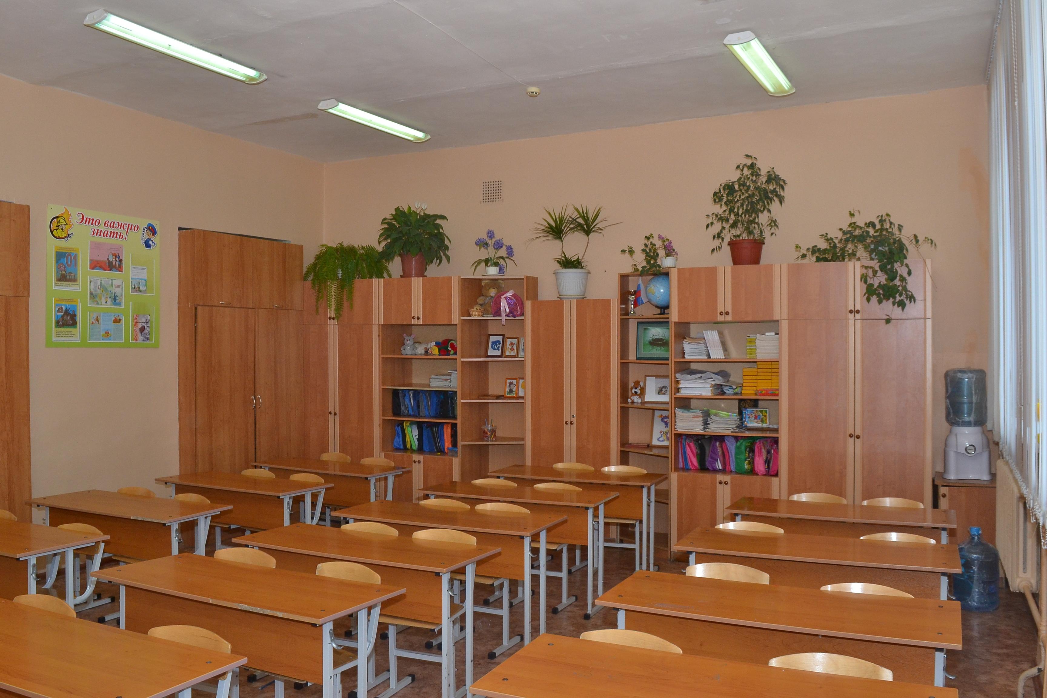 Кабинет № 8 - начальные классы