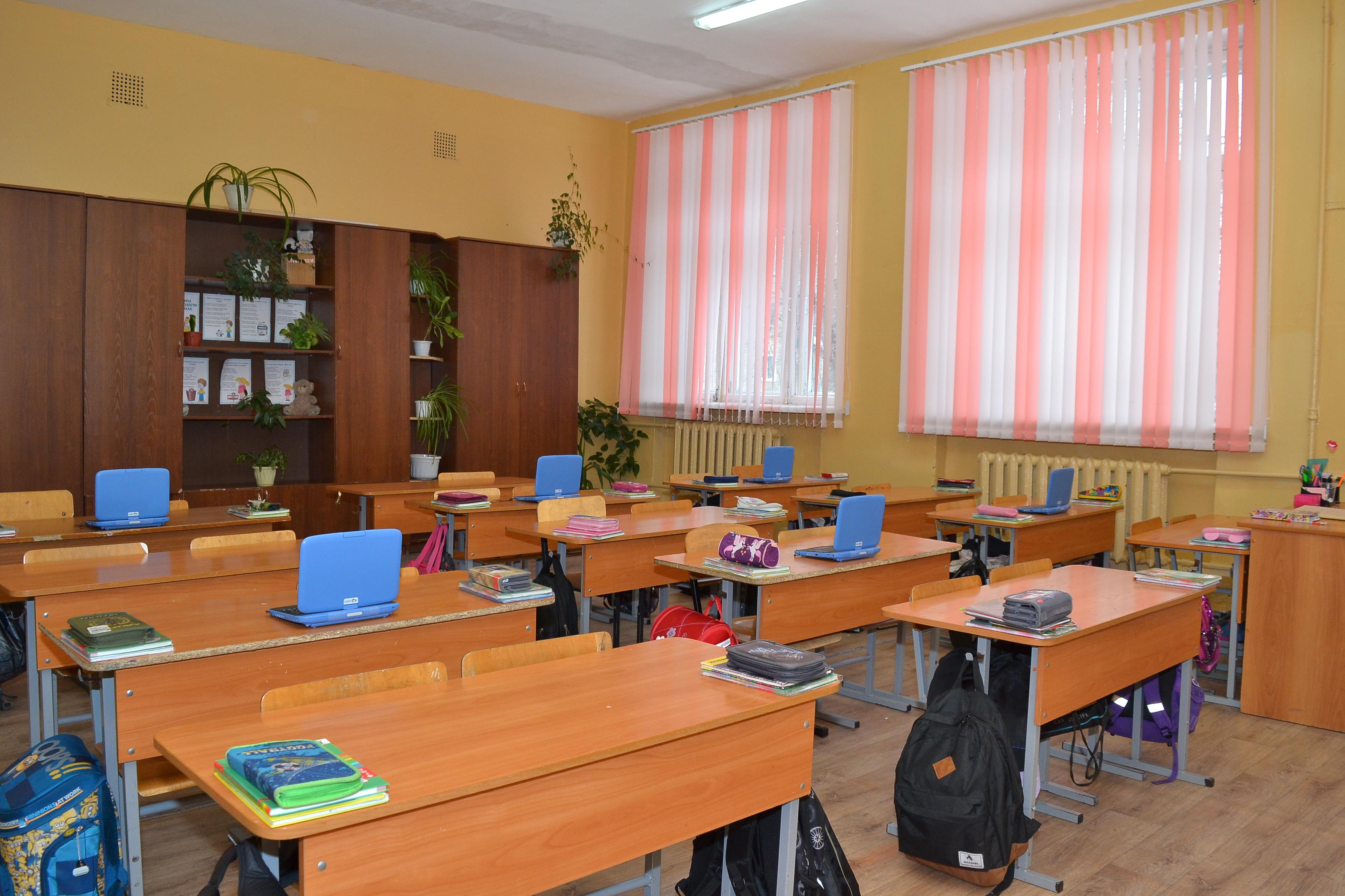 Кабинет № 11-начальные классы
